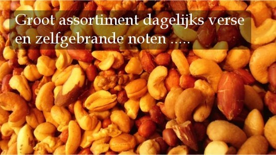 De Notenexpres - groot assortiment