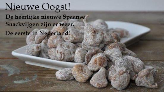 Nieuwe Oogst Spaanse Snack Vijgen